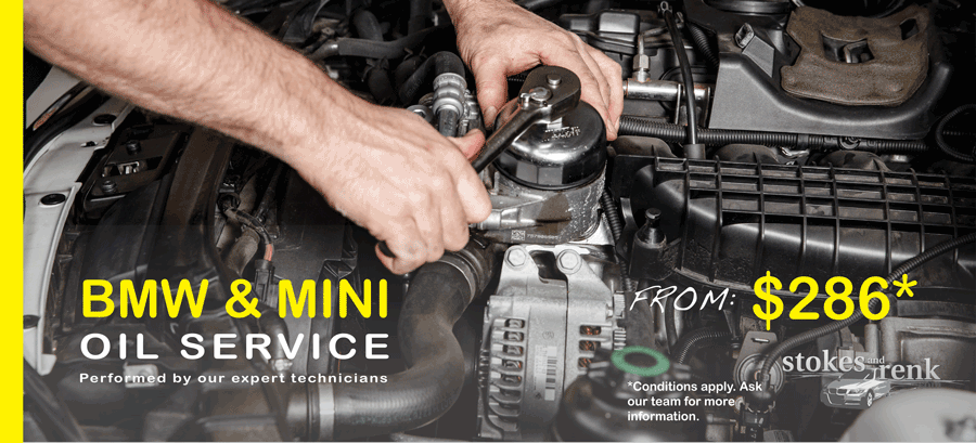 BMW engine oil service special